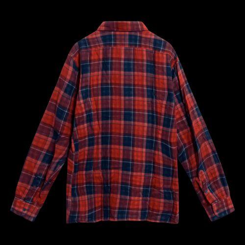 Raf Simons Red Check Long Sleeved Shirt