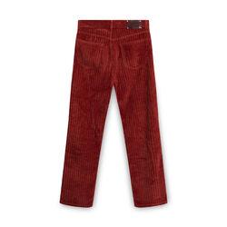 Vintage Dries Van Noten Indented Cotton Pants - Burnt Orange