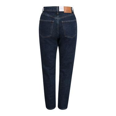 Moussy High Rise Dark Wash Denim Jeans