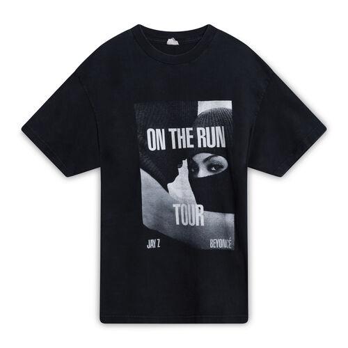 On The Run Jay-Z x Beyonce Tour T-Shirt - Black