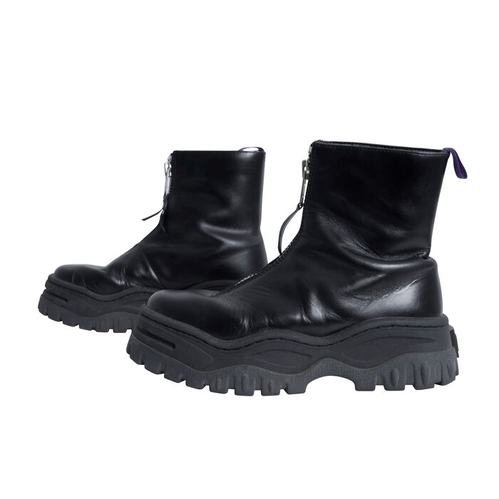 Eytys Raven Leather Ankle Boots