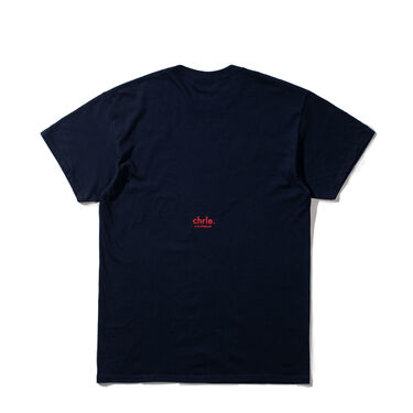 CHRLE. Essential SS T-Shirt in Navy