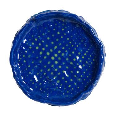 Blue and Green Dots Ashtray