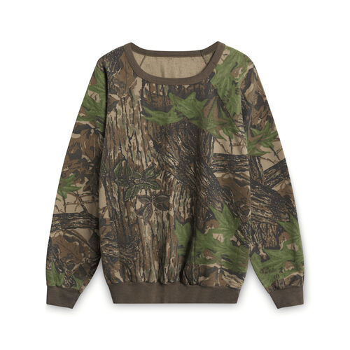 90s Realtree Camo Sweatshirt - Dark Green
