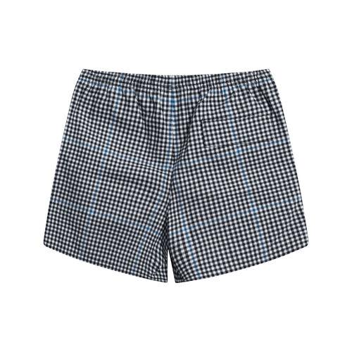 Vintage Noah Checkered Shorts - Black/White