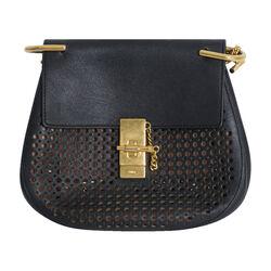 Chloe Drew Mini Perforated Shoulder Bag