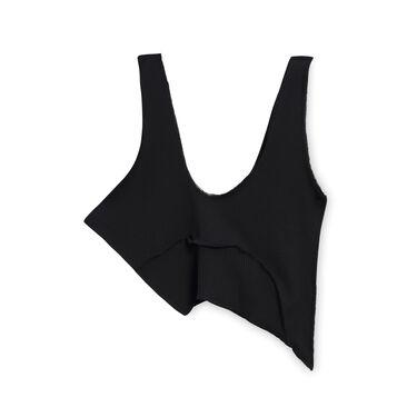 Black Asymmetrical Top