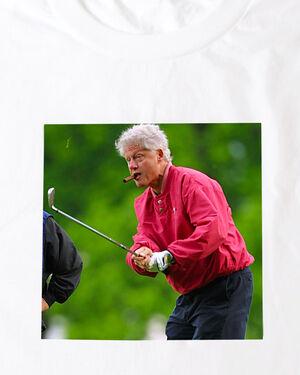 Bill Clinton Golf Tee