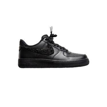 Azeeza x Nike Air Force 1 with Black Embellished Swoosh