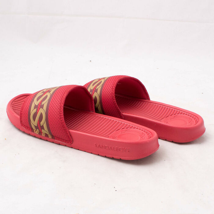 Sandalboyz Schooner Red Slide