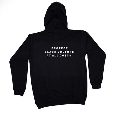 """Harlem Parade """"HRLM x Protect Black Culture At All Costs"""" Hoodie"""