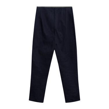 Vintage Prada Trousers with Olive Waist Trim