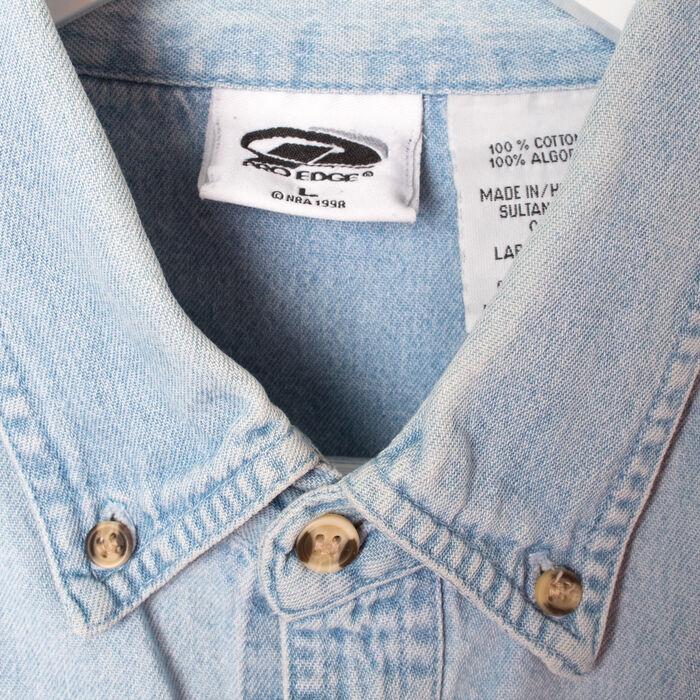 Vintage Bulls Jean Button Up