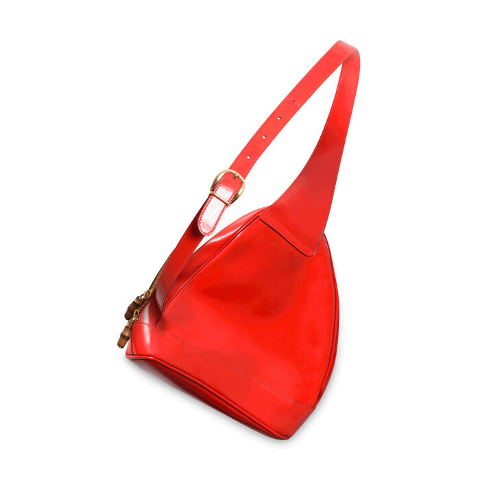 Vintage Gucci Shoulder Bag - Orange