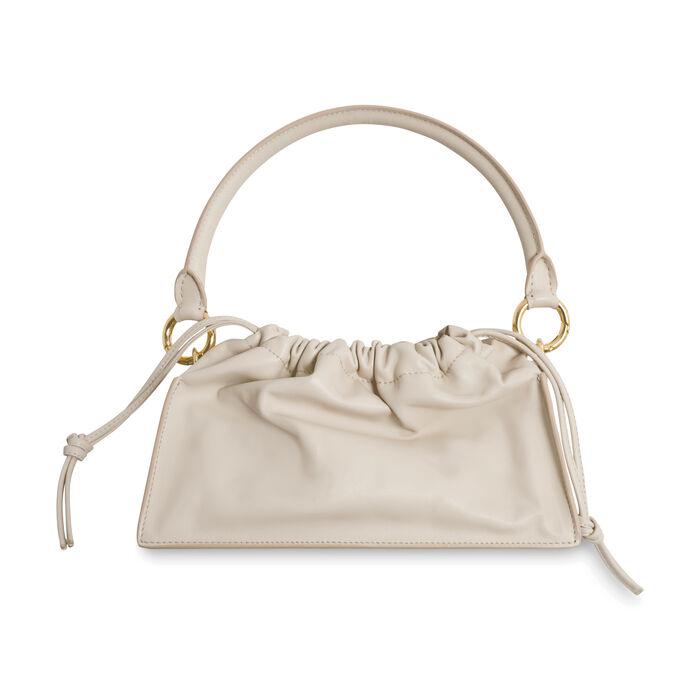Yuzefi Bom Leather Shoulder Bag