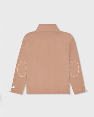 Support Your Friends QTZIP - Brown