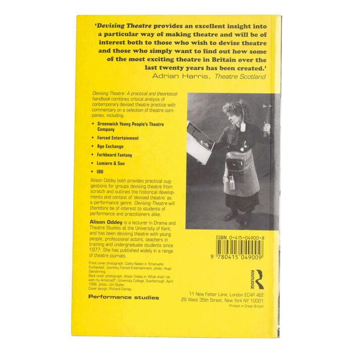 Devising Theatre: A Practical and Theoretical Handbook