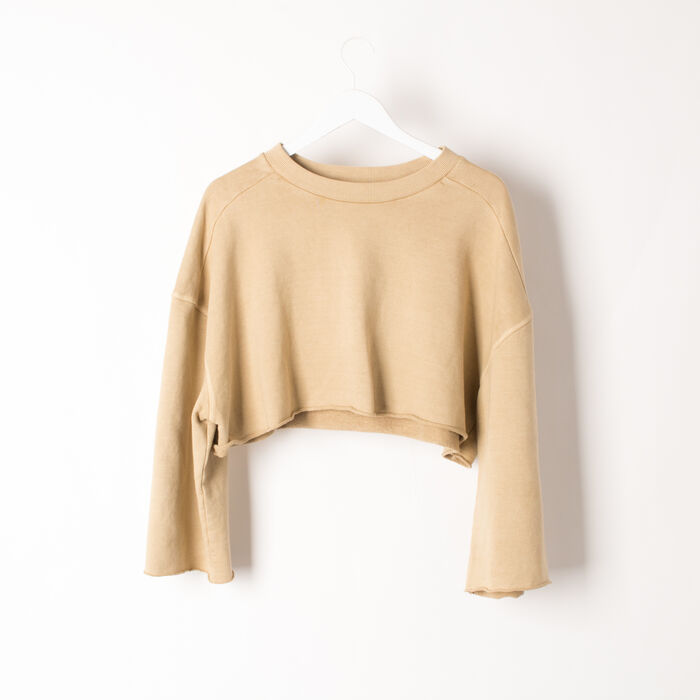 Yeezy Season 1 Cropped Sweatshirt