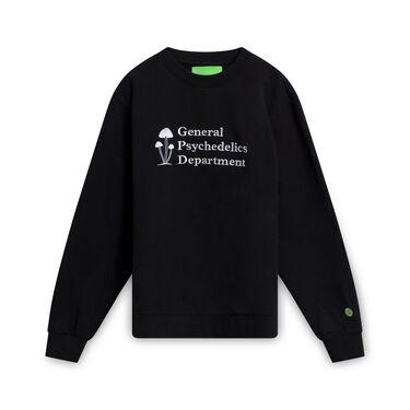 Mister Green General Psychedelics V2 Crewneck - Black