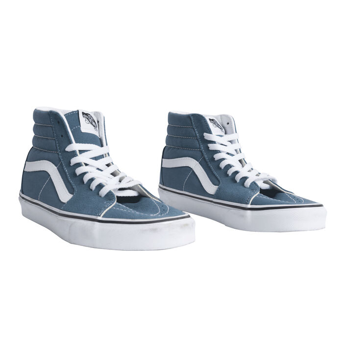 Vans Canvas Sk8-Hi- Blue Mirage/ True White