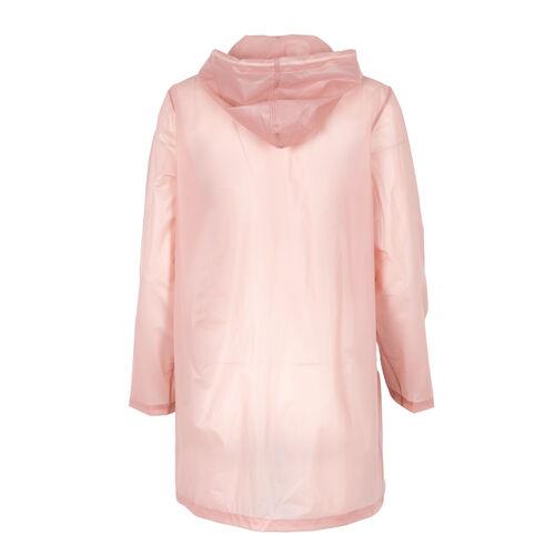 Mother Semi Transparent Raincoat