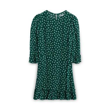 Reformation Floral Dress - Green
