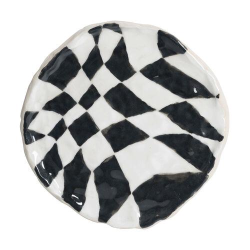 Psyche Checkerboard - Black