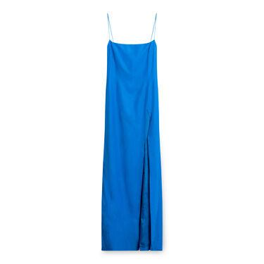 Gauge 81 Toyama Long Silk Cocktail Dress