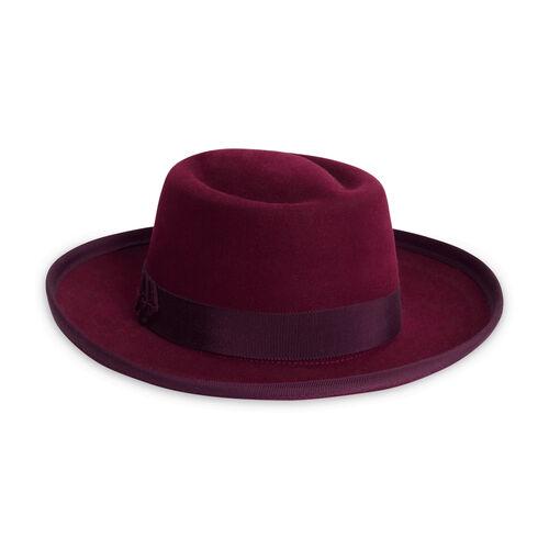 Helen Kaminski Maroon Felt Hat