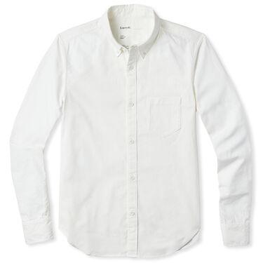 Entireworld Organic Cotton Oxford Shirt - White