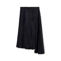 COS Pleated Asymmetric Skirt - Black