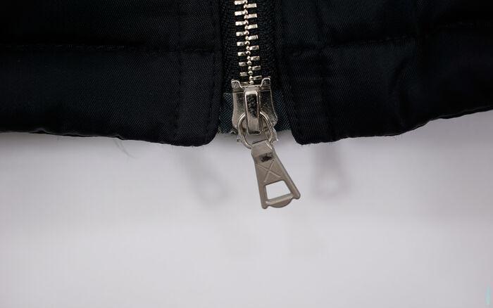 OriginalFake Season 1 X-Eyes Knit Collar Liner Puff Jacket