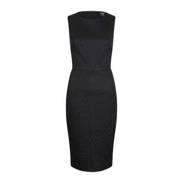 Dolce & Gabbana Sleeveless Seersucker Cocktail Dress