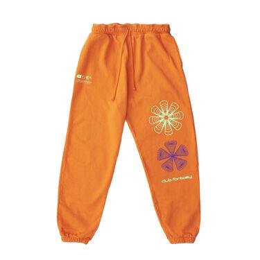 Club Fantasy Textbook Trip Sweatpants in Orange