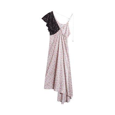 KkCo Floral Asymmetrical Dress