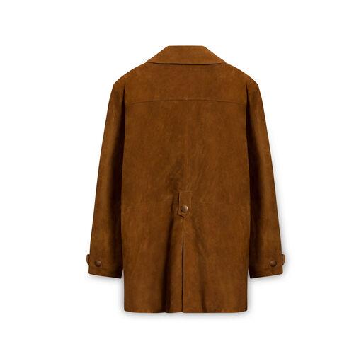 Virginia Slims Brown Suede Jacket