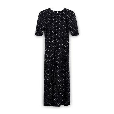 Jane Singer Polk-a-Dot Dress