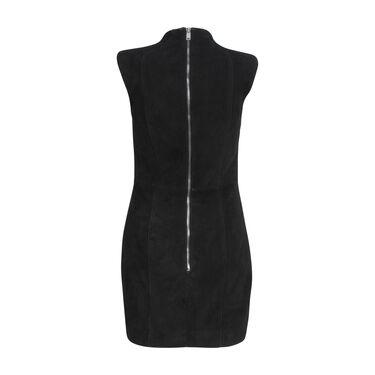 Saint Laurent Suede Studded Mini Dress