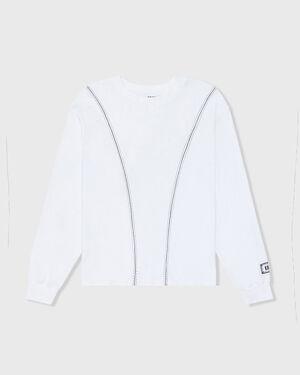 Baseball Long Sleeve Tee - White