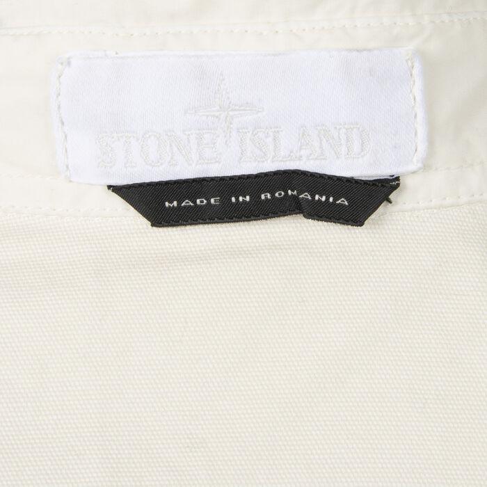 Stone Island Shirt Jacket in Bone
