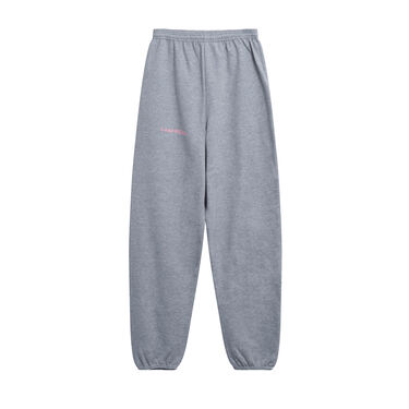 I Am Real Sweatpants in Heather Grey