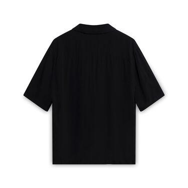 All Saints Black Button Up Shirt