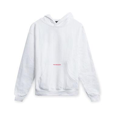 Season International Hoodie- White