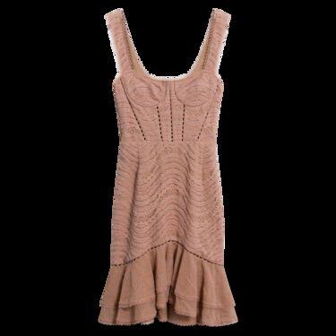 Jonathan Simkhai Bustier Mini Dress in Pink