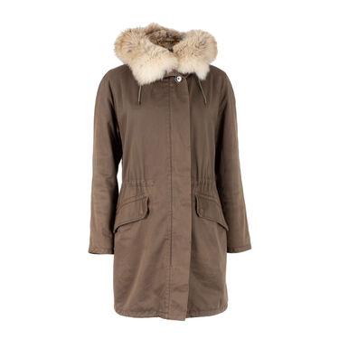 Yves Salomon Army Fur Lined Parka