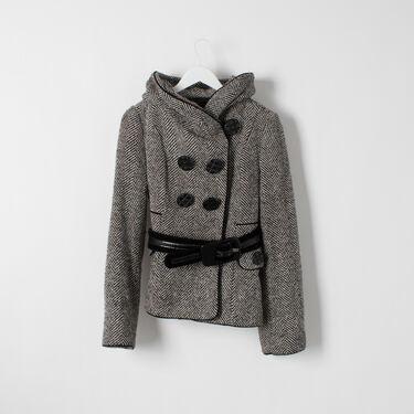 Vintage Betsey Johnson Tweed Coat