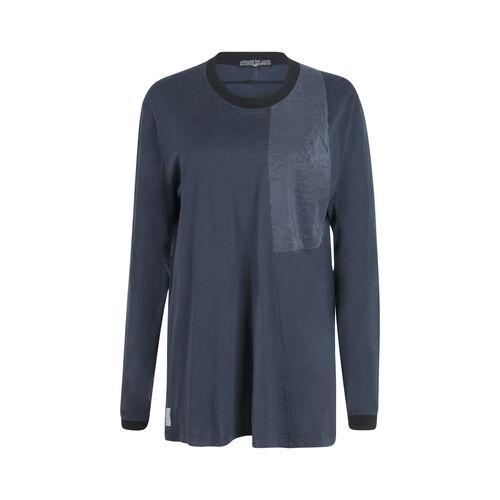 Stone Island Shadow Project Long Sleeve Shirt- Marine Blue