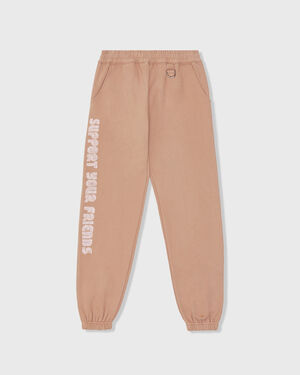 Support Your Friends Sweats - Brown