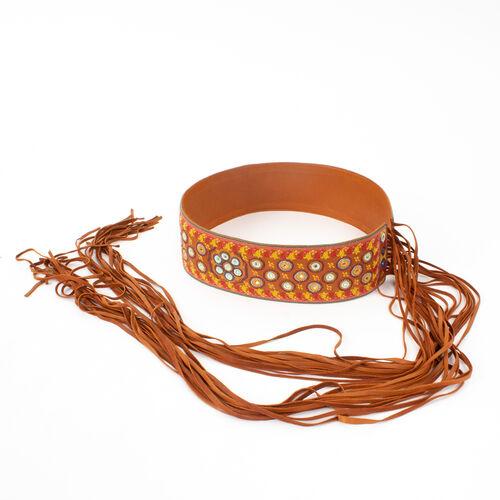 Christian Dior Leather Tie Belt