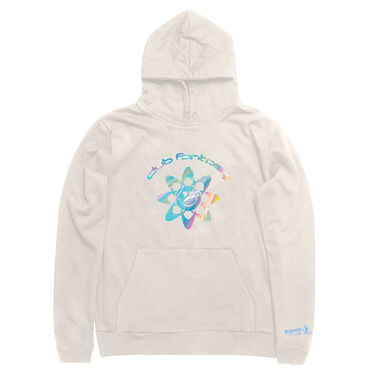 Club Fantasy Atomic Happiness Hoodie in Cream